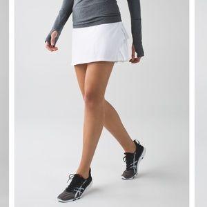 LULULEMON Run: Pace Setter Skirt *Tall 4 skort